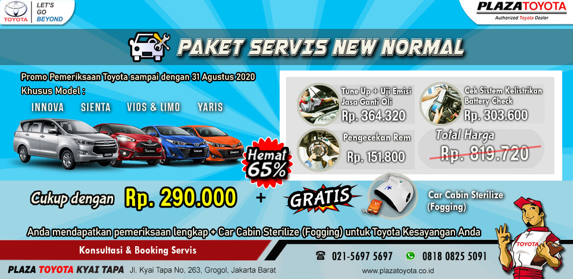 PAKET SERVICE NEW NORMAL