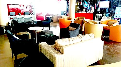 Ruang Tunggu Yang Bersih, Luas, dan nyaman