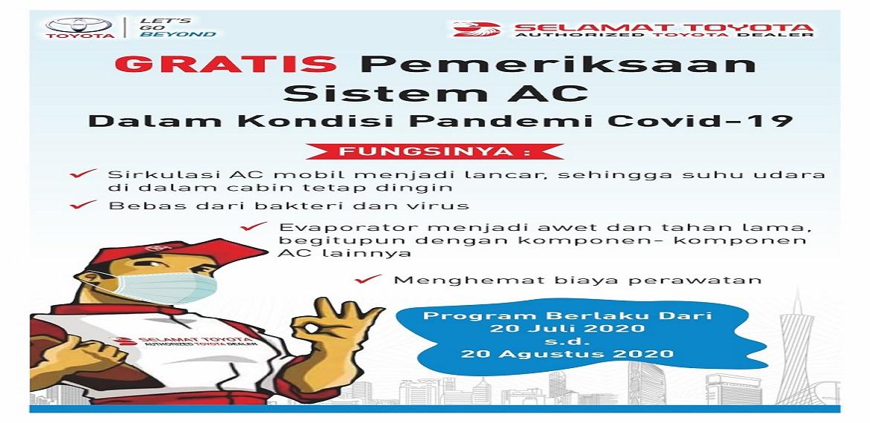 Gratis Pemeriksaan Sistem AC